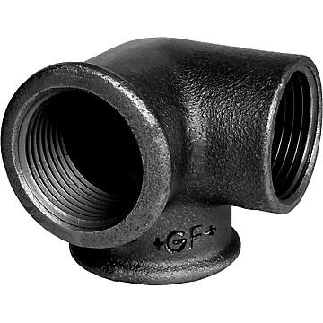 Distributeur coudé fonte noir - Fig.221 Georg Fischer