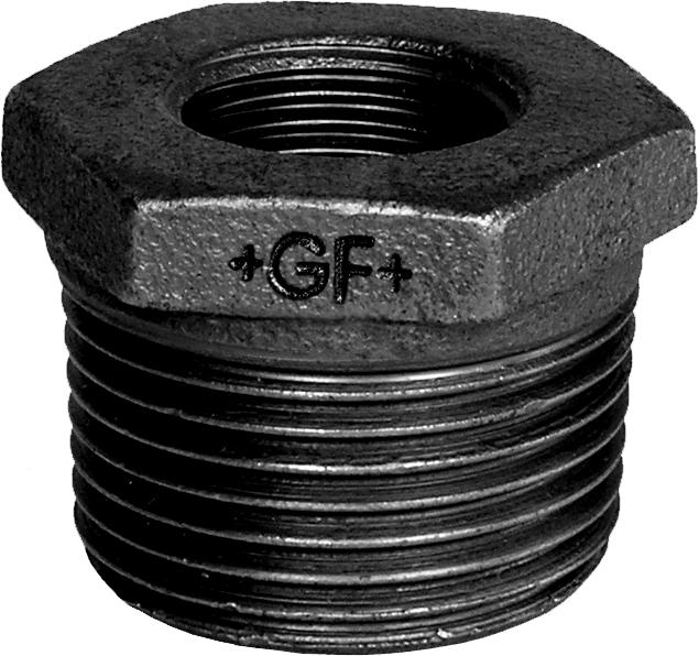 Mamelon réduit MF fonte noir - Fig 241 George Fischer