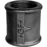Manchon égal filetage Droite Gauche FF noir - Fig 271