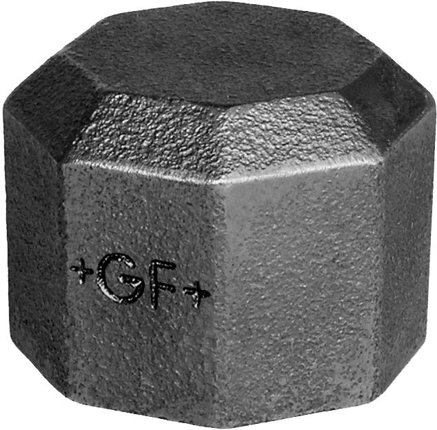 Bouchon F fonte noir - Fig.300 George Fischer