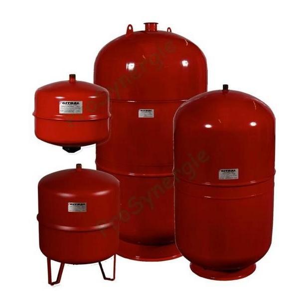 Vase d'expansion de chauffage standard Gitral