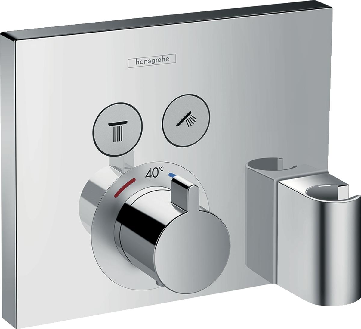 Façade encastrée ShowerSelect E Hansgrohe