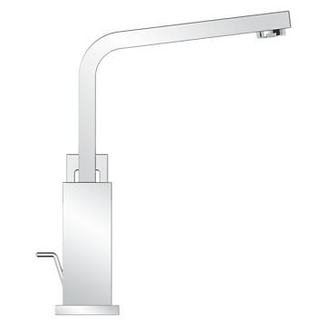 Mitigeur lavabo Eurocube - Bec haut Grohe