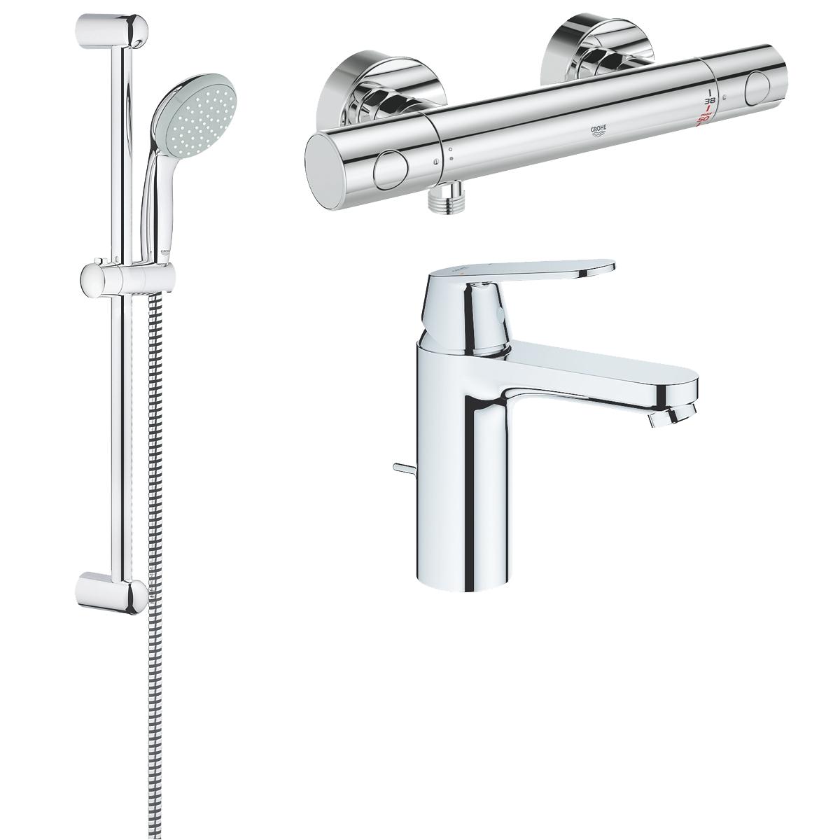 Lot spécial rénovation salle de bain Grohe