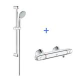 Lot mitigeur de douche G1000 + Barre de douche