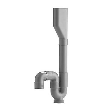 Siphon double MAL sortie verticale GRK