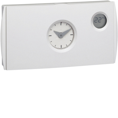 Thermostat d'ambiance programmable journalier Hager