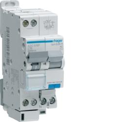 Disjoncteur différentiel Ph+N 30mA 4,5/6kA type AC Hager