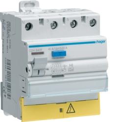 Interrupteur différentiel 3P+N - Type HI Hager