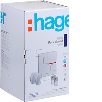 Pack système alarme SEPIO Hager