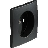 Kallysta - Enjoliveur carbone - Prise courant fort