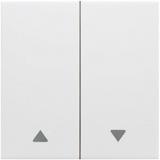 Kallysta - Enjoliveur blanc - Commande volets roulants