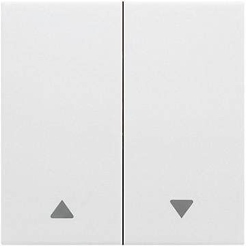 Kallysta - Enjoliveur blanc - Commande volets roulants Hager
