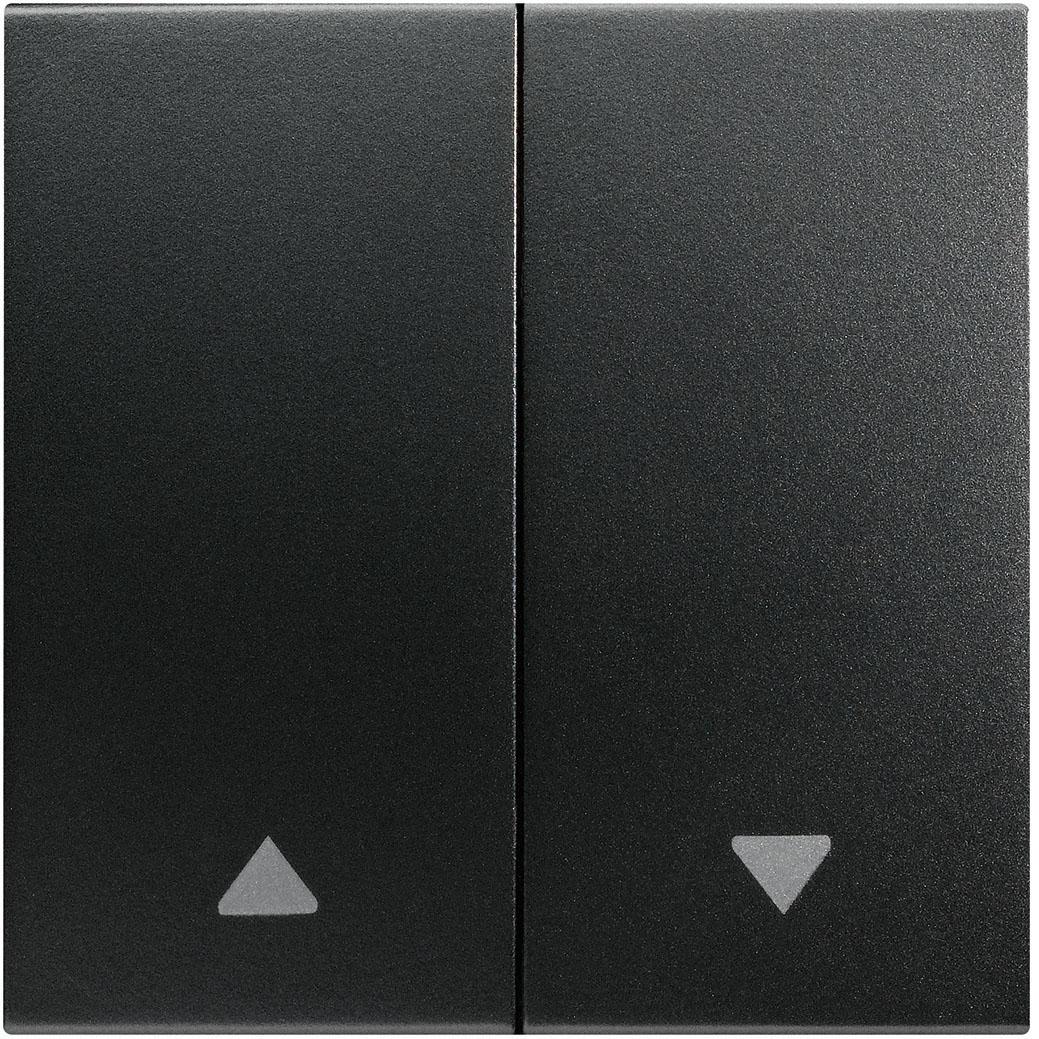 Kallysta - Enjoliveur carbone - Commande volets roulants Hager