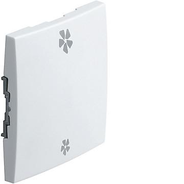 Kallysta - Enjoliveur blanc - Commande VMC Hager