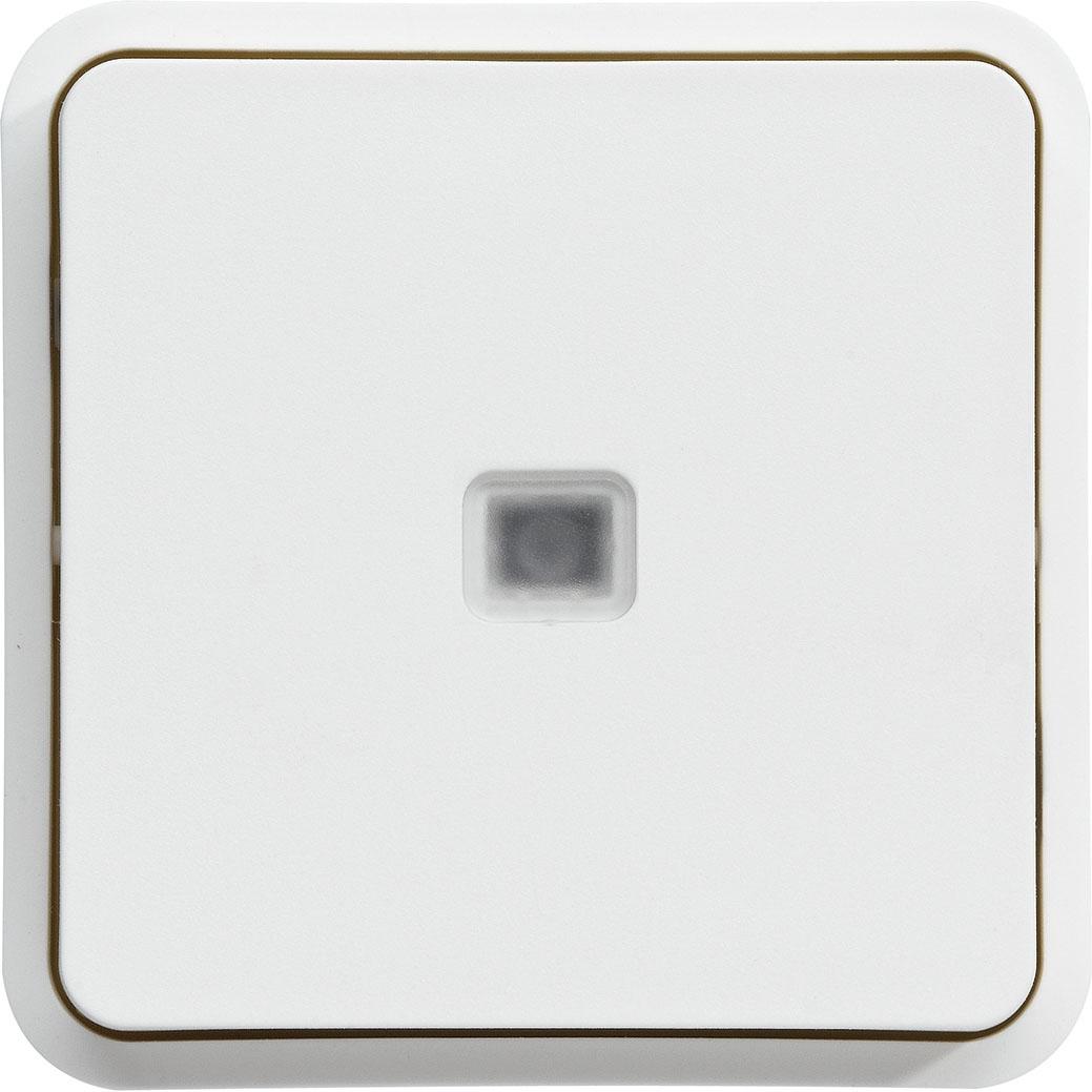 Cubyko composable - Commande éclairage - Blanc Hager