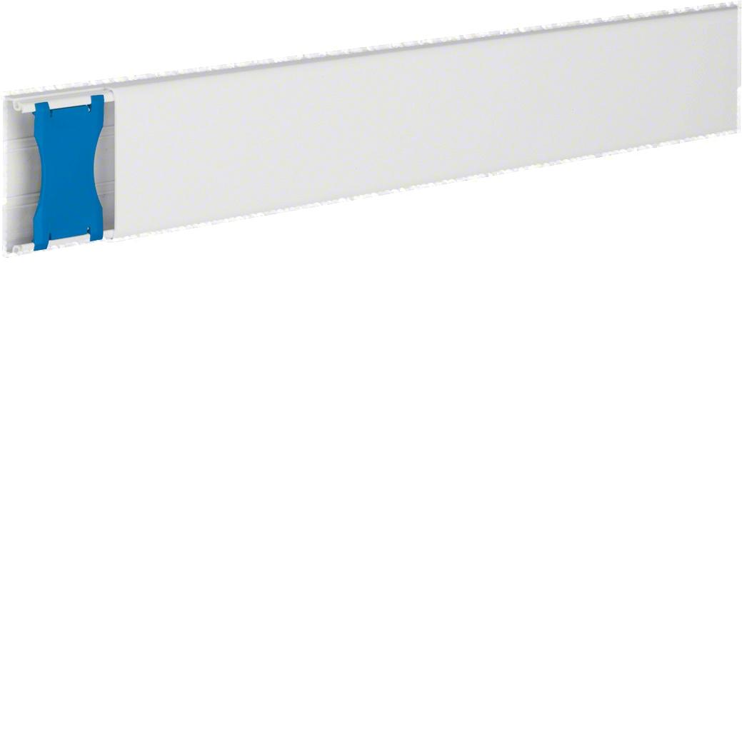 Moulure et accessoires Atéha 13 x 52 - Blanc Hager