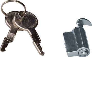 Serrure à clef pour Gamma 13 et Gamma 18 Hager