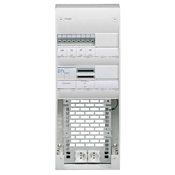 Coffret VDI semi-équipé compatible Grade 3 Hager