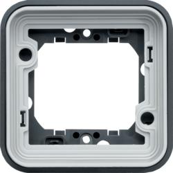 Cubyko composable - Support encastré - Gris Hager
