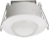Détecteur IR plafond semi-encastré 360° blanc