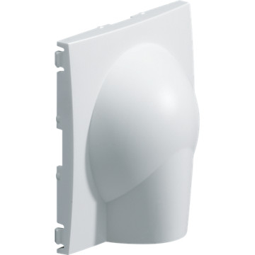 Kallysta - Enjoliveur carbone - Sortie de câble Hager