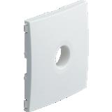 Kallysta - Enjoliveur blanc - Prise courant faible