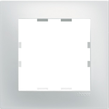 Kallysta Pop - Plaque Blanc Nevé Hager