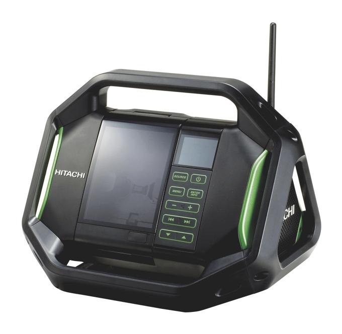 Radio de chantier UR 18DSAL W4 Hitachi
