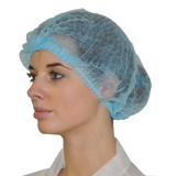 Charlotte jetable à clip polypropylène bleu Confort