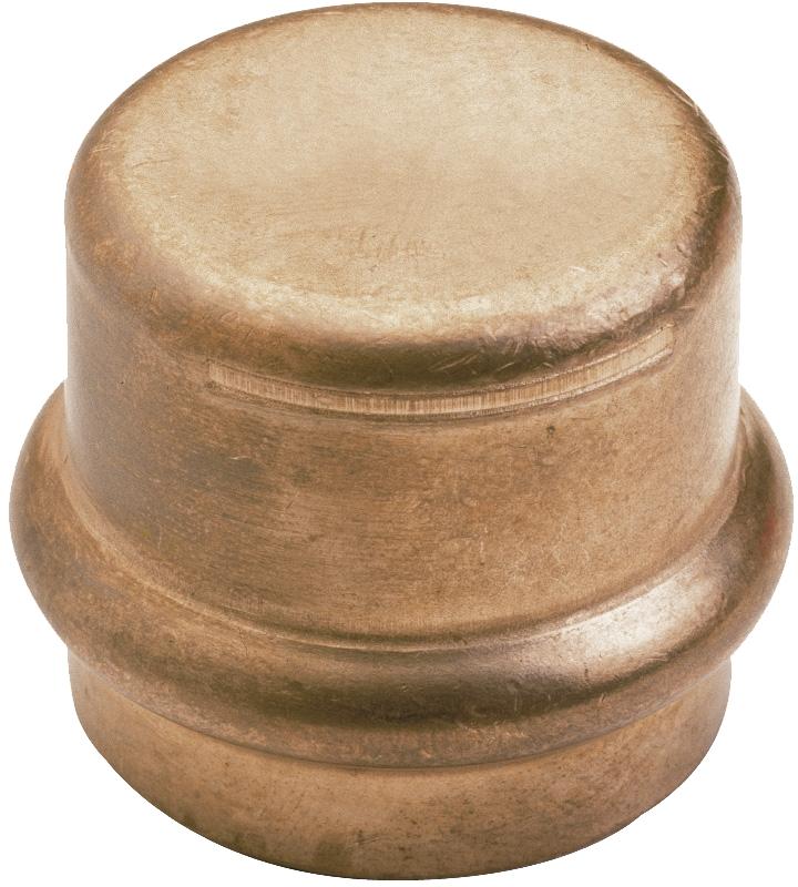 Bouchon femelle cuivre à sertir eau IBP