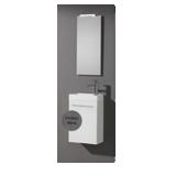 Lave-mains avec meuble Bonsaï