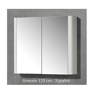 Armoire miroir Sun 120 cm MB Expert