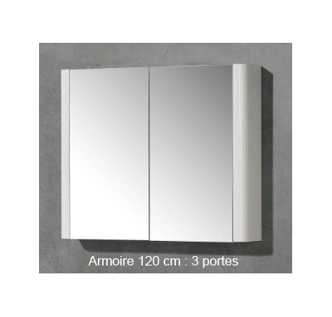 Armoire miroir Sun - 120 cm MB Expert