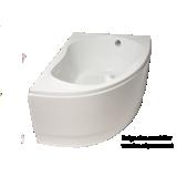 Baignoire asymétrique acrylique Transat