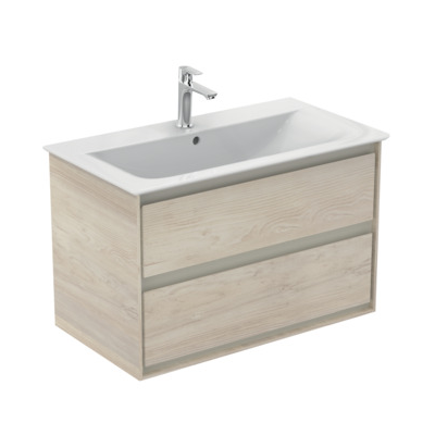Meuble sous-plan Connect Air 80 cm - 2 tiroirs Ideal Standard