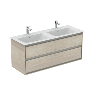 Meuble sous-plan Connect Air 120 cm - 4 tiroirs Ideal Standard