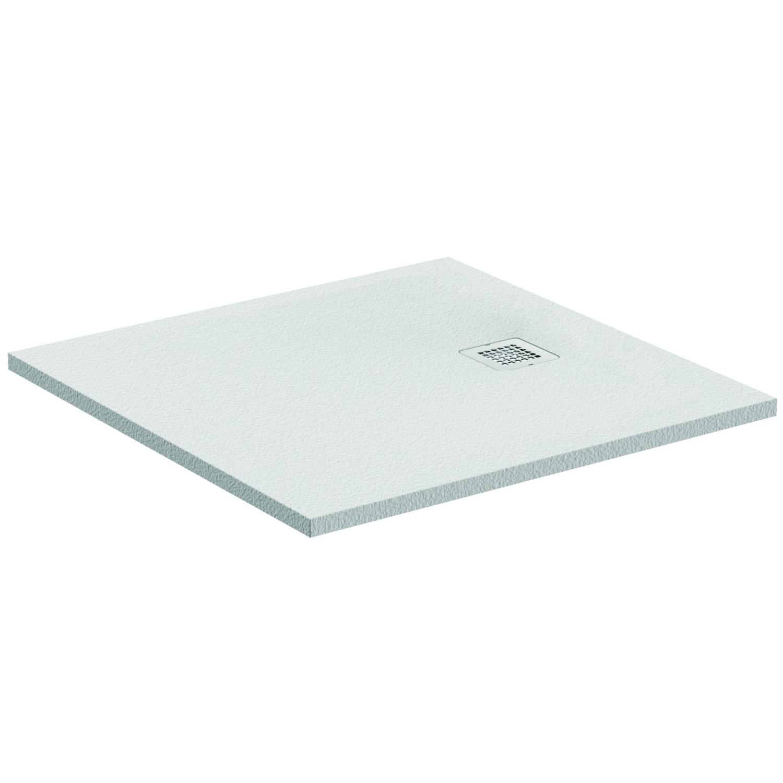 Receveur Ultra Flat S extra-plat carré à poser ou à encastrer Idéal Standard