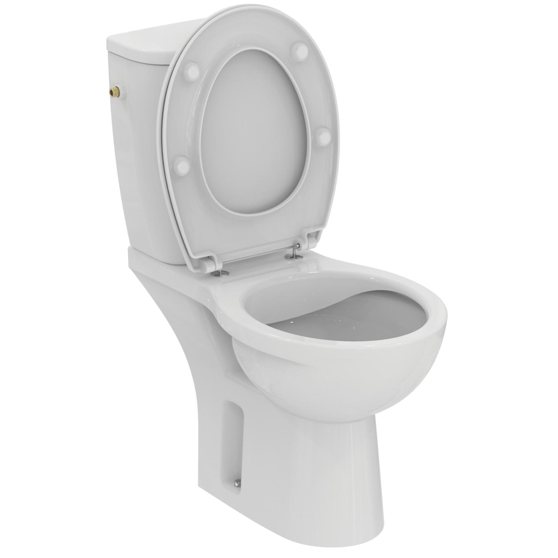Pack WC complet Ulysse sans bride - Sortie horizontale Porcher