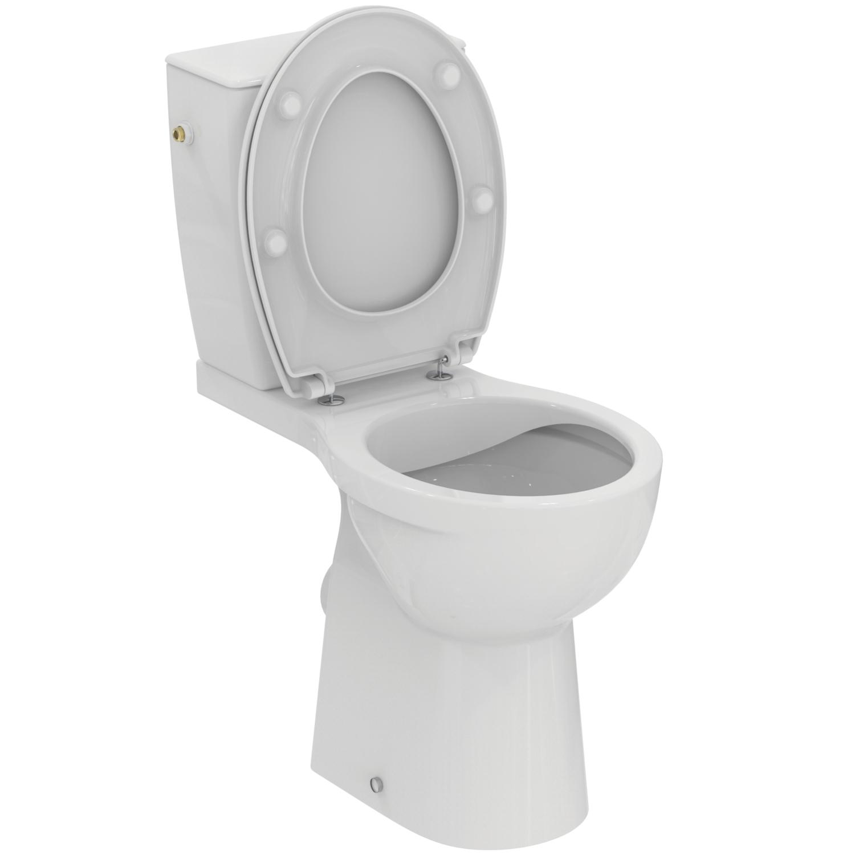 Pack WC complet Ulysse réhaussé sans bride - Sortie horizontale Porcher