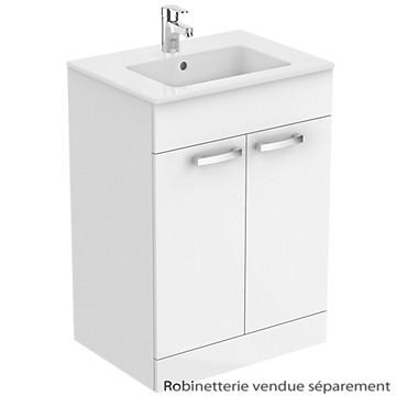 meuble sous plan et plan vasque ulysse poser 2 portes 60 cm porcher t r va direct vente. Black Bedroom Furniture Sets. Home Design Ideas