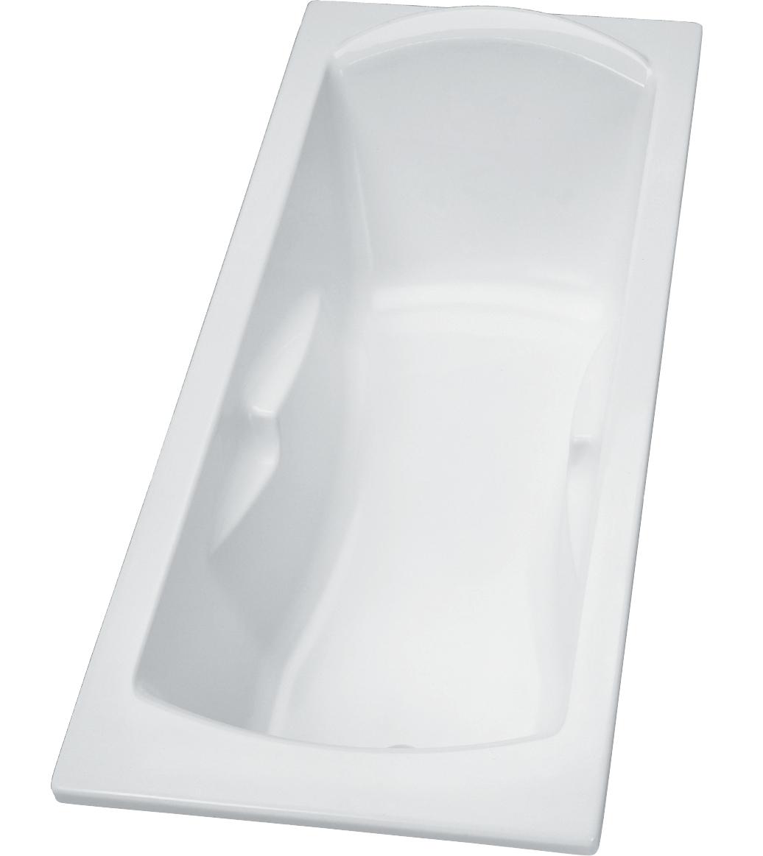Baignoire rectangulaire acrylique Ulysse 2 Porcher