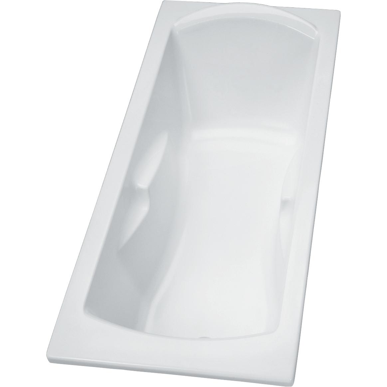 Baignoire rectangulaire acrylique à poser Ulysse 2 Porcher