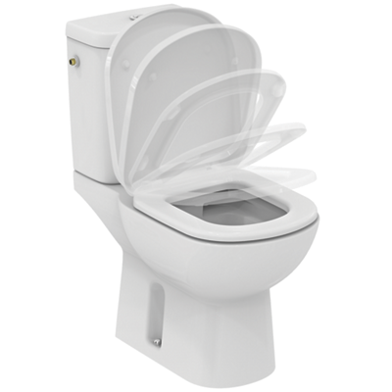 Pack WC complet Kheops sans bride - Sortie horizontale Idéal Standard