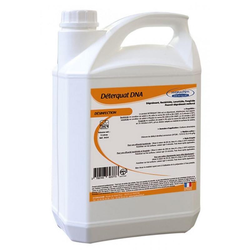 Nettoyant désinfectant bactéricide virucide prêt à l'emploi 5L Hydrachim