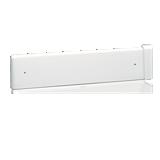 Dossier percé pour lavabo Duo blanc