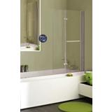 Pare-baignoire Luxo relevable 2 volets