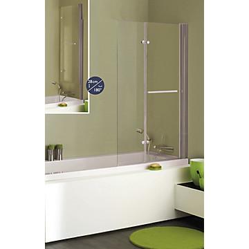 Pare-baignoire Luxo relevable 2 volets MB Expert