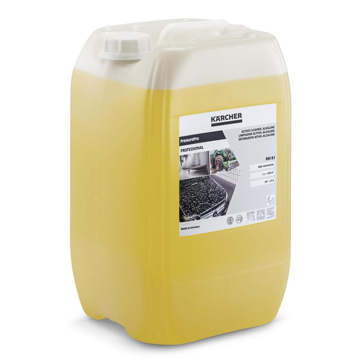 Détergent actif PressurePro, alcalin RM 81, 20l Karcher