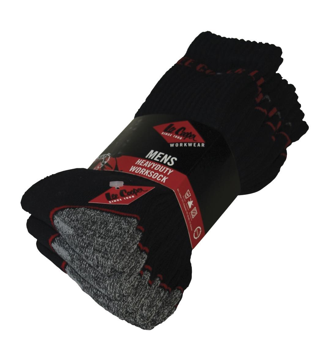 Chaussettes LCSCK603 noir/gris Lee Cooper
